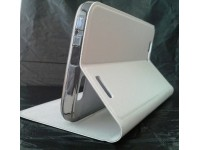 Калъф flip cover Huawei Ascend G7 - white