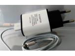 ЗУ 220V USB white 2000 mA