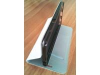 Калъф flip cover Sony Xperia M4 Aqua - white