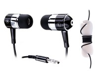 Handsfree MP3 Stereo 3.5mm jack silver metal